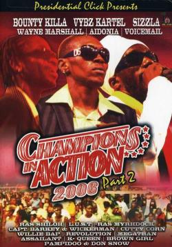 Champions in Action 2006 - Vol. 2 DVD Cover Art