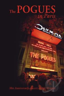 Pogues In Paris: 30th Anniversary Concert DVD Cover Art