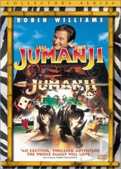 Jumanji DVD Cover Art