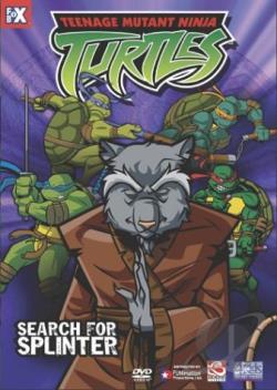 Teenage Mutant Ninja Turtles - Search for Splinter (Volume 8) movie