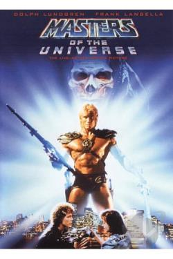 Masters of the Universe DVD Cover Art