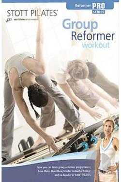 Stott Pilates - Group Reformer Workout DVD Cover Art