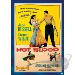 Hot Blood DVD Cover Art