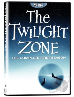Twilight Zone: The Definitive Edition - Season 1 DVD Cover Art