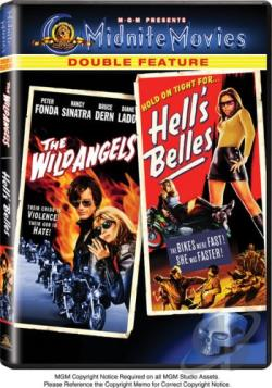 Wild Angels/Hell's Belles DVD Cover Art