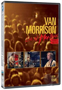 Van Morrison - Live at Montreux 1980 & 1974 DVD Cover Art