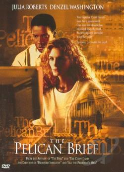 Pelican Brief DVD Cover Art