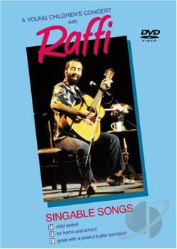 Raffi - A Young Children's Concert With Raffi DVD Cover Art