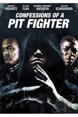 Confessions of a Pit Fighter DVD Cover Art
