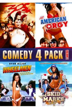 Comedy 4 Pack, Vol. 1 DVD Cover Art