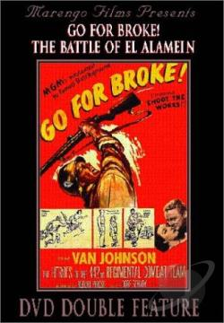 Go For Broke!/The Battle of El Alamein DVD Cover Art