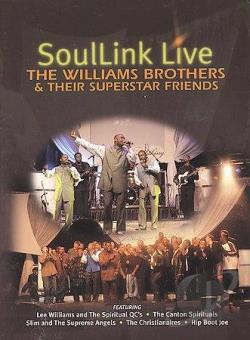 Williams Brothers - Soullink Live DVD Cover Art
