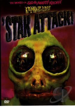 Land of the Lost - Stak Attack DVD Cover Art