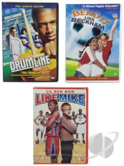 Bend It Like Beckham/ Drumline/ Like Mike - 3 Disc Set DVD Cover Art