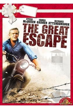 Great Escape DVD Cover Art