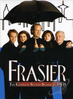 Frasier - The Complete Second Season DVD Cover Art