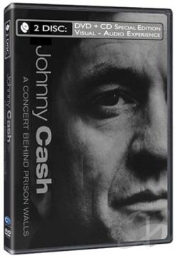Johnny Cash - A Concert Behind Prison Walls DVD Cover Art