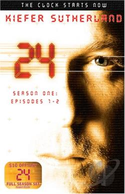 24 Season One - TV Starter Set DVD Cover Art