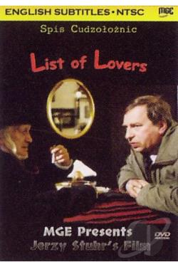 List of Lovers DVD Cover Art