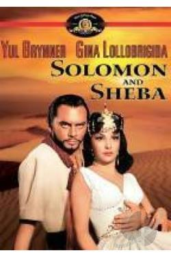 Solomon and Sheba DVD Cover Art