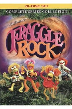 Fraggle Rock - Complete Series Collection DVD Cover Art