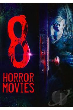 8 Horror Movies DVD Cover Art