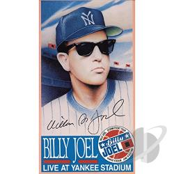 Billy Joel - Live at Yankee Stadium DVD Cover Art