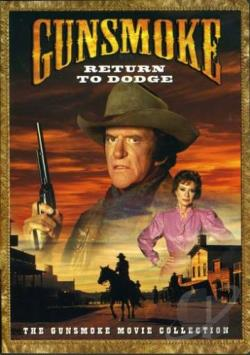 Gunsmoke - Return to Dodge DVD Cover Art