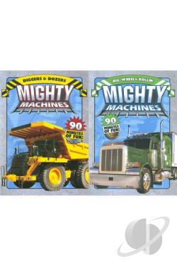 Mighty Machines: Diggers & Dozers/Big Wheels Rollin' DVD Cover Art