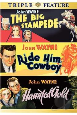 Big Stampede/Ride Him, Cowboy/Haunted Gold DVD Cover Art