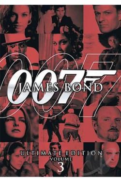 James Bond Ultimate Edition - Vol. 3 DVD Cover Art