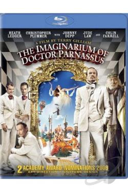Imaginarium of Doctor Parnassus BRAY Cover Art