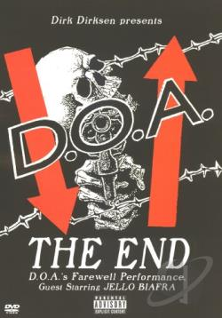 D.O.A. - The End DVD Cover Art