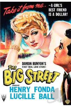 Big Street DVD Cover Art