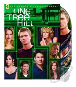 One Tree Hill - The Complete Fourth Season DVD Cover Art