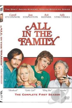 All in the Family - The Complete First Season DVD Cover Art
