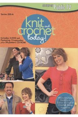 Knit and Crochet Today!: Series 200-A DVD Cover Art
