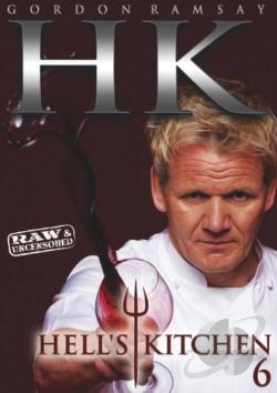 Hell's Kitchen: Season 6 DVD Cover Art