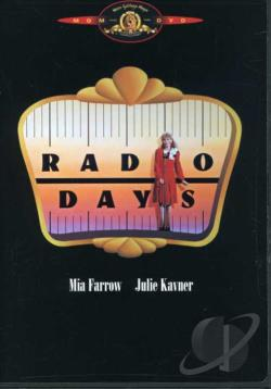 Radio Days DVD Cover Art