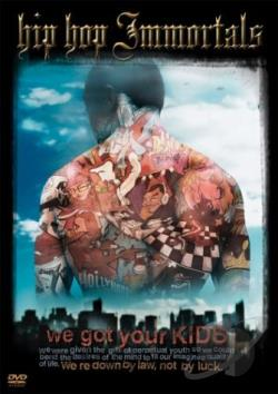 Hip Hop Immortals DVD Cover Art