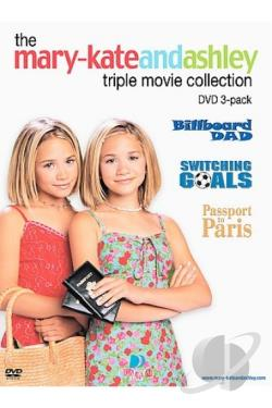 Mary-Kate And Ashley - 3 Pack DVD Cover Art