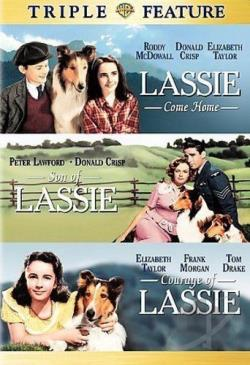 Lassie Come Home/Son of Lassie/Courage of Lassie DVD Cover Art