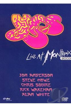 Yes - Live at Montreux 2003 DVD Cover Art