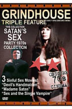 Satan's Sex Party DVD Cover Art