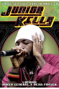 Junior Kelly - Live in San Francisco DVD Cover Art