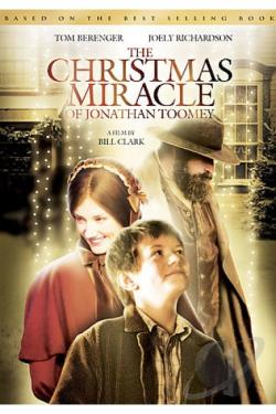 Christmas Miracle of Jonathan Toomey DVD Cover Art
