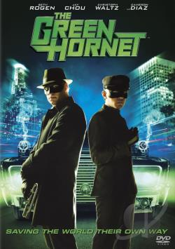 Green Hornet DVD Cover Art