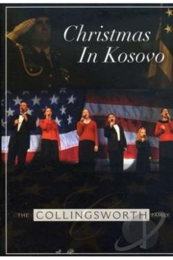 Collingsworth Family: Christmas in Kosovo DVD Cover Art