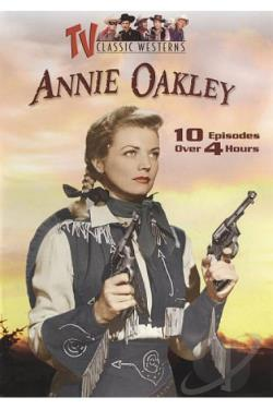 Annie Oakley: 10 Episodes DVD Cover Art