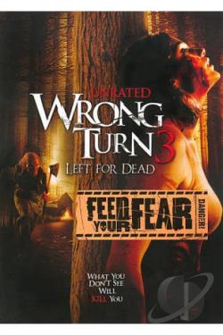 Wrong Turn 3: Left for Dead DVD Cover Art